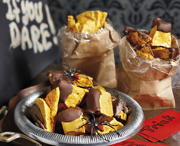 Halloween Honeycomb Bites