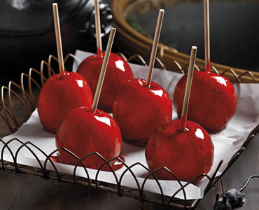 Halloween Poisoned Toffee Apples