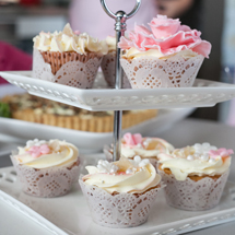 Sarah's Rhubarb and Ginger Cupcakes