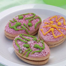 Easter Bunny Iced Biscuits