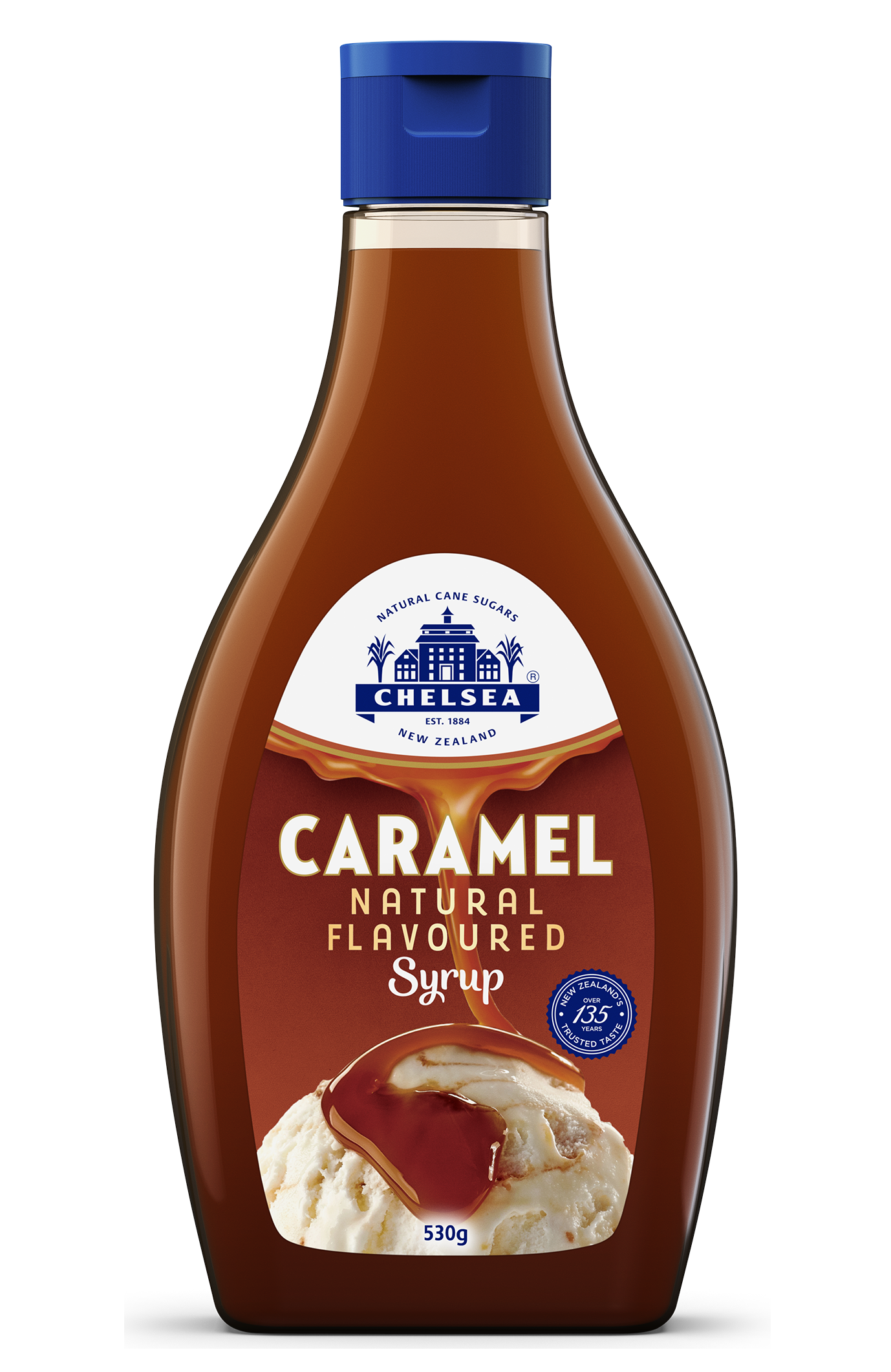Caramel Natural Flavoured Syrup