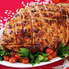 Christmas Ham Recipes.Syrup Glazed Ham