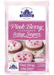 Pink Berry Flavoured Icing Sugar