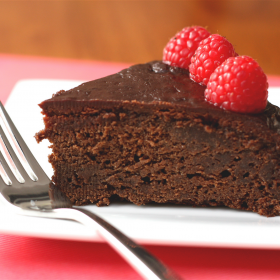 Sally's Chocolate Raspberry Cake