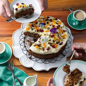 Best Ever Carrot Cake Nz
