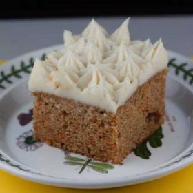 Sour Cream Carrot Cake